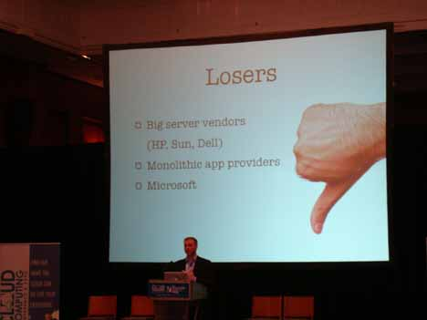 Cloud computing biggest losers
